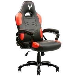 Itek Gaming Chair Taurus P1 - Pelle Sintetitca Pu, Nero Rosso, poliuretano