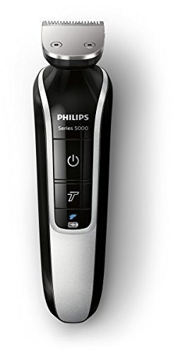 philips series 5000 8 in 1 waterproof mens grooming kit beard stubble and body trimmer hair. Black Bedroom Furniture Sets. Home Design Ideas