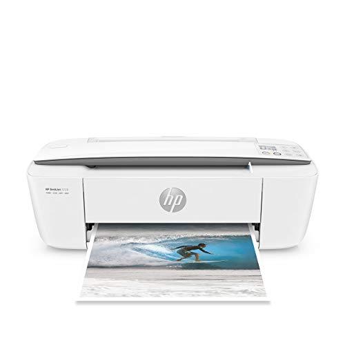 HP DeskJet 3720 Stampante Multifunzione con 3 Mesi di Prova Gratuita del Servizio Instant Ink, Grigio Perla
