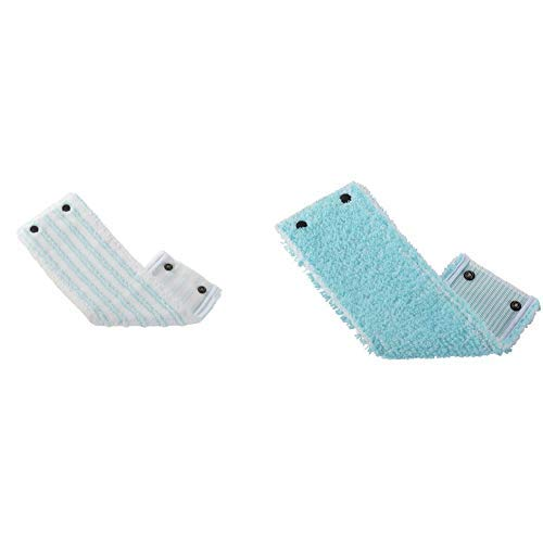 Leifheit Wischbezug Clean Twist M micro duo aus Microfaser, saugfähiger Bodenwischer Ersatzbezug &  Wischbezug Clean Twist M, super soft aus Microfaser, saugfähiger Bodenwischer Ersatzbezug