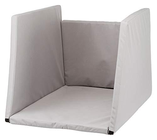 Trixie Innenpolsterung für Aluminium-Transportbox # 39340, S: 40 × 40 × 52 cm, 1 St, grau