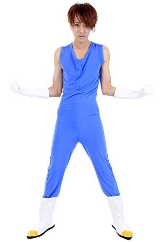 De-Cos Dragon Ball Z Prince of All Saiyans Vegeta Fighting Uniform V2 (Kostüme Dbz Halloween)