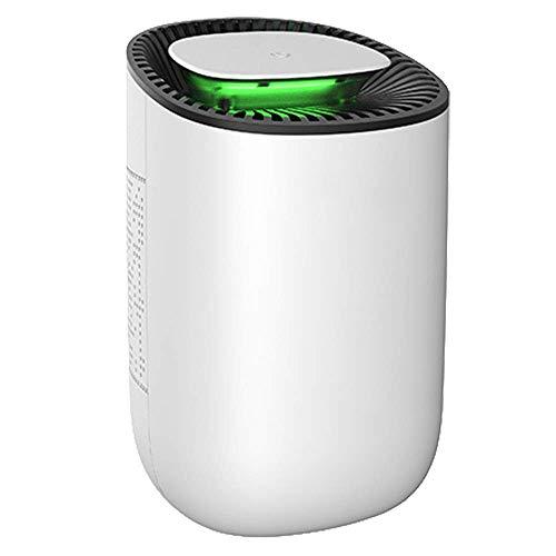 LHJCN Luftreiniger, Air Purifier,Purifier HEPA Geruchsbeseitiger mit HEPA-Filter, 2-Stufen-Filterung für 99,97% Filterleistung, Ideal für Allergiker und Raucher, White -