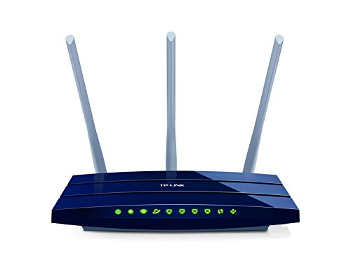 TP-LINK TL-WR1043ND - Router inalámbrico N450 Mbps (WPS, puertos Giga