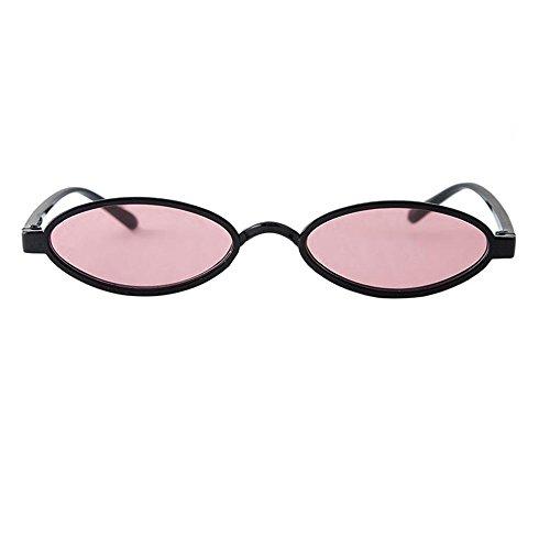 Dragon868 Frauen Mode Unisex Oval Shades Sonnenbrille Integrierte UV-Brille Women Sunglasses Sonnen-Überbrille UV400 Schutz (C)