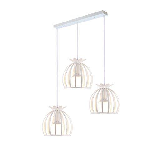 Adelaide - semplice e moderno lampadario in ferro in stile europeo illuminazione creativa personalità art designer tre ristorante lampadario