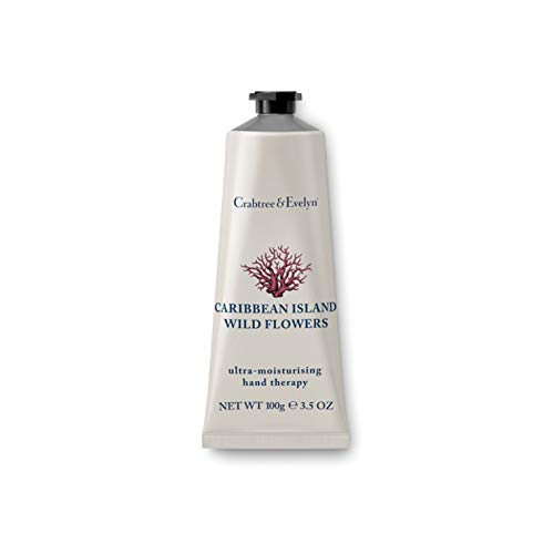 Crabtree & Evelyn Caribbean Island Wild Flowers ultra moisturizing Hand Therapy, 1er Pack (1 x 100 g) -