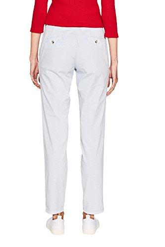 ESPRIT Damen Hose mit Gürtel 037EE1B002 Blau (Pastel Blue 435)