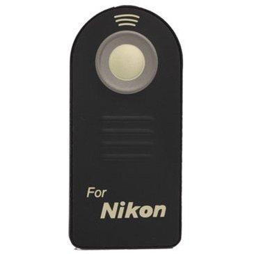 digiparts (TM) Control Mando a distancia por infrarrojos inalámbrico disparador remoto ML-L3para Nikon D5300, D3200, D5100, D7000, D600, D610, P7000, P7100, J1, V1, AW1D40, D40x, D50, D60, D70, D70s, D80, D90, D3