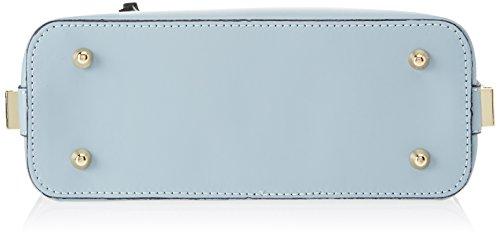 Chicca Borse 8619, Borsa a Spalla Donna, 27x23x10 cm (W x H x L) Turchese (Sky)