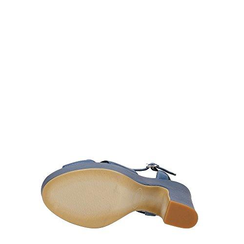 DonnaPiù D51518NOR7.VA02 Sandalo Donna Blu