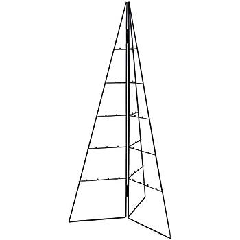 weihnachtsbaum metall schwarz wundersch ner baum als. Black Bedroom Furniture Sets. Home Design Ideas