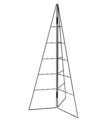Spetebo Design Metallbaum für Zierschmuck - 100 cm - Deko Baum Weihnachtsbaum Tannenbaum schwarz