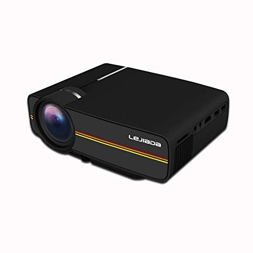 ZMM YG410 Mini Projector 1080P 1800 Lumen Portable LCD LED Projektor Home Theater USB HDMI 3D Projektor Subwoofer