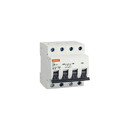 Industrielle Leistungsschalter (Disjoncteur Automatique Industriel 4P-6kA 25 A LEDKIA)