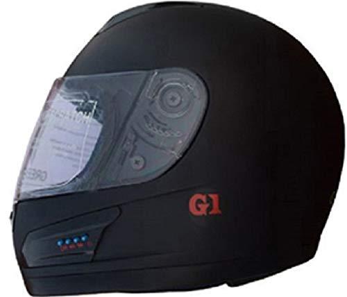 GREEN STONE G1 SERIES Bluetooth Helmet Black plain Special Large Size 600mm