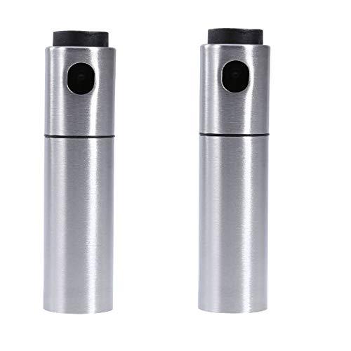 Spray-flasche Set Pack (Essig Ölsprüher Set, TKSTAR Edelstahl Olivenöl Sprayer Essig Sprayer Barbecue Marinade Spray Flasche zum Kochen Backen Grill Grill Marinade Fryer XF12 (2er pack))