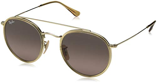 Ray-Ban Unisex-Erwachsene RB3647N-91233M Sonnenbrille, Gold (Dorado), 0