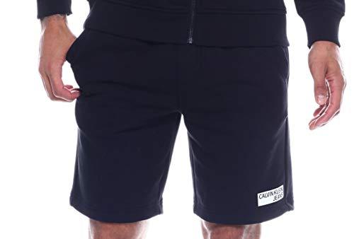 Calvin Klein Mens Rectangle Box Short Knit Short, Adult -
