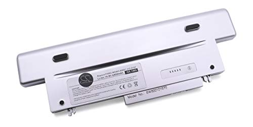 Batterie Li-Ion 4400mAh 14.8V couleur argent pour DELL, remplace les modèles P0382, 312-0106, 0107, 0151, 0298, 451-10148, 10149, C6109, F0993
