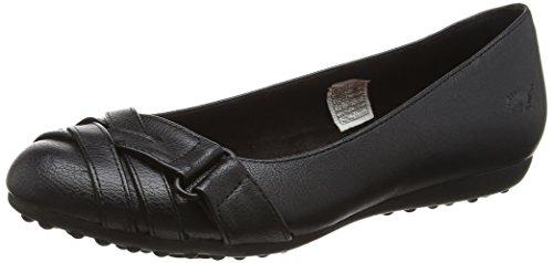 Rocket Dog Women's Rebel Ballet Flats, Black (Black), 6 UK 39 EU