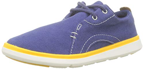 Timberland Gateway Pier, Zapatos de Cordones Oxford Unisex Niños, Azul Twilight Blue 294, 35 EU