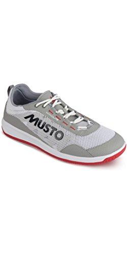 Musto Dynamic PRO Lite Scarpe da Vela e da diporto Platinum - Unisex. Traspirante