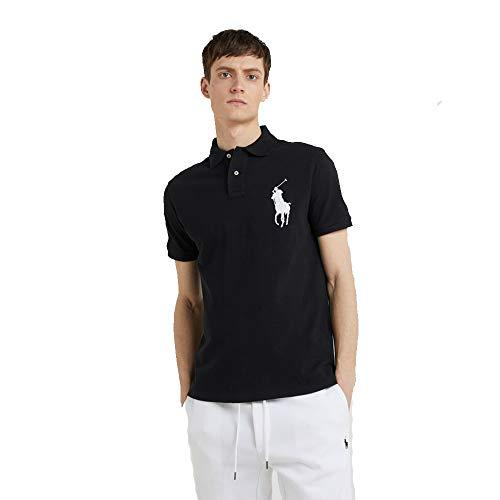 Ralph Lauren Poloshirt Big Pony Slim Fit (M, Polo Black) -