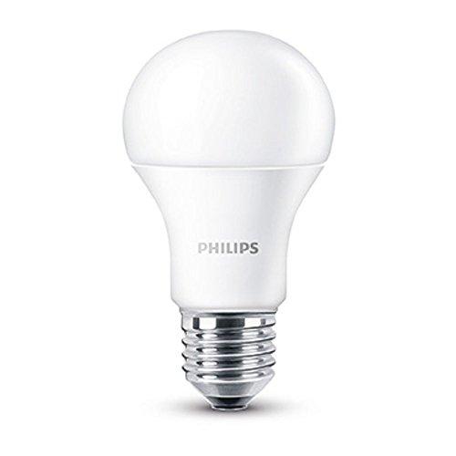 Philips Lampadina LED, Attacco E27, 9W equivalente a 60W, 230V