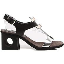 Hispanitas Sandalia Combi Silver/White/Black Sandalia para Mujer
