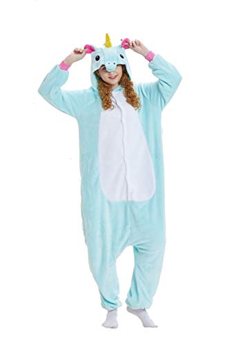 Kostüm Cosplay Cartoon - Unisex Cosplay Einhorn Pyjamas Kostüm Jumpsuit Tier