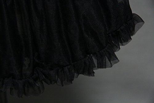 RuiyuhongE Damen Unterrock One size Schwarz
