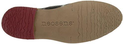 Neosens S924 Fantasy Floral Black Albilla, Chaussures Derby Femme Noir (Floral Black)