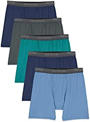 Fruit of the Loom Men's Lightweight Micro-Stretch Boxer Br