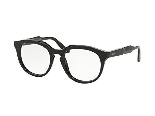Prada Für Frau 13s Black Kunststoffgestell Brillen, 50mm