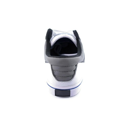 SUPRA Shoes GRIFFIN white blue grey-white leather vetro Bianco (bianco)