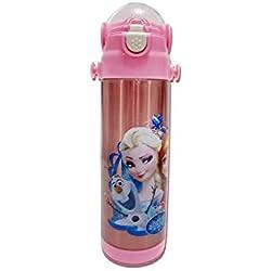 Character Kinder Trinkflasche Disney Frozen 500ml Flasche für Schule Flasche Flasche für Sport Camping Radfahren Bleiben Hydratisiert Lieblings-Kinder Charakter