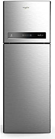 Whirlpool 340 L 3 Star Inverter Frost-Free Double Door Refrigerator (INTELLIFRESH INV CNV 355 3S, German Steel