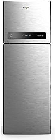 Whirlpool 340 L 3 Star Inverter Frost-Free Double Door Refrigerator (INTELLIFRESH INV CNV 355 3S, German Steel