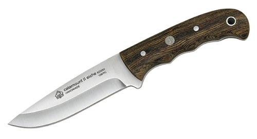 Puma IP C II 825050 Gürtelmesser mit Messerscheide Holz, Chrom