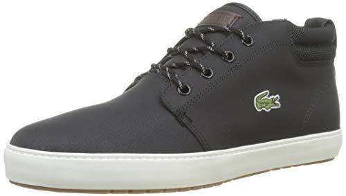 Lacoste Herren Ampthill Terra 319 1 CMA Sneaker, Schwarz (Black/Offwhite 454), 43 EU
