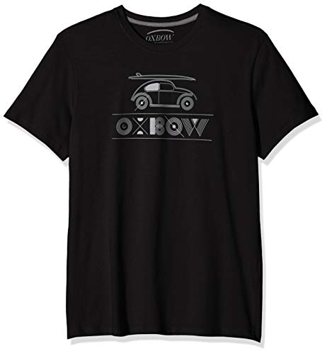 Oxbow TRAILO T- T-Shirt Homme, Noir, FR : L (Taille Fabricant : L)