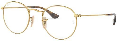 Ray-Ban RX3447V Round Metal Optics Prescription Glasses 2500 - 50