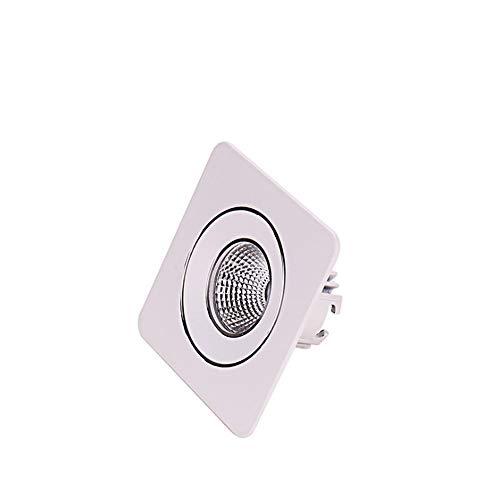 Yaione Cafe Küche Indoor Downlight Home 1-Park-Brandschutz Wasserdicht Sicherheit Verkabelung Panel Licht Verdeckte Beruf Augenschutz Kein stroboskopisches Quadrat Dünne Deckenleuchte Sicherheits-verkabelung