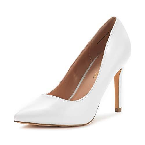 DREAM PAIRS Zapatos Tacón Alto Pump Mujer