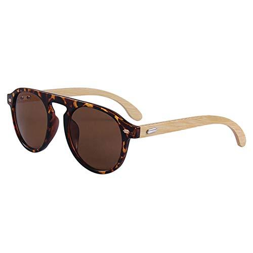 YUHANGH Sonnenbrillen Womendriving Goggles Round Men Shades Damen Eyewear Bamboo Leg Sunglasses