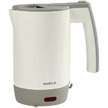 Havells Travel Lite 0.5-Litre 1000-Watt Kettle (Beige)