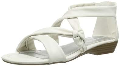 Marco Tozzi 2-2-28125-22 2-2-28125-22 Damen Sandalen, Weiß (WHITE 100), EU 40