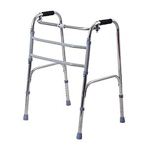 WZHWALKER Gehhilfe Für Ältere Menschen, Struktur Aus Aluminiumlegierung, Ältere Gehhilfe Für Vier Beine, Faltbare Gehhilfe Für Behinderte