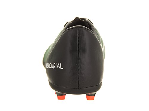 Nike 831945-013, Chaussures de Football Garçon Noir